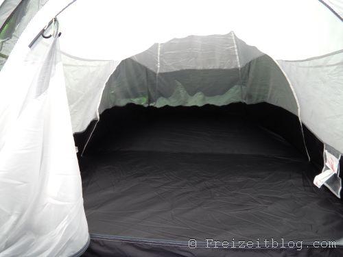 Blick ins Innere des Zeltes